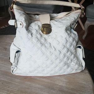Marc Jacobs handbag canvas and leather purse